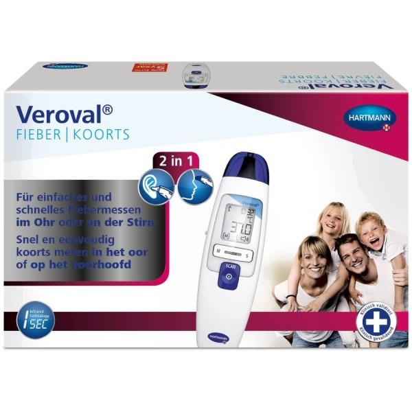 Veroval® 2 in 1 Infrarot - Fieberthermometer