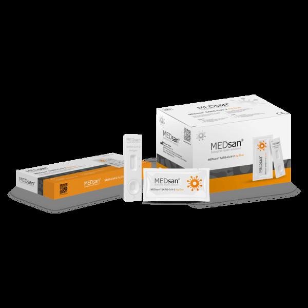 MEDsan® SARS-CoV-2 Ag Duo 25er Box Speicheltest