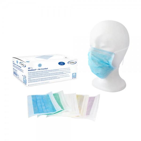 MaiMed® – FM Comfort Medizinische Gesichtsmaske mit Gummiband blau 75503