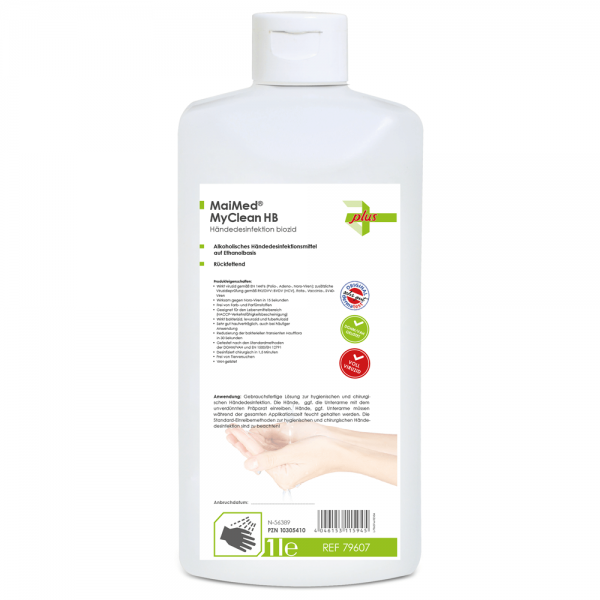 MaiMed® MyClean HB 500ml Euroflasche Händedesinfektion 79606